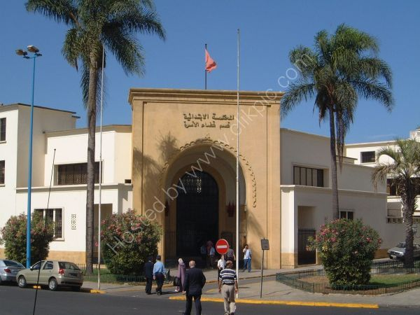 Typical Entrance, Government Building, Casablanca