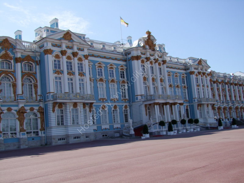 Catherine's Palace, Front Entrance