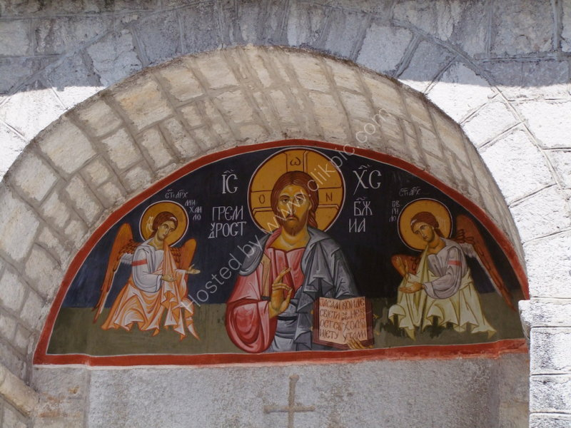 Painting at Monastery of Cetinje