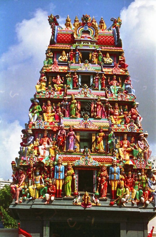 Chettiar's Hindu Temple, Tank Road, Singapore