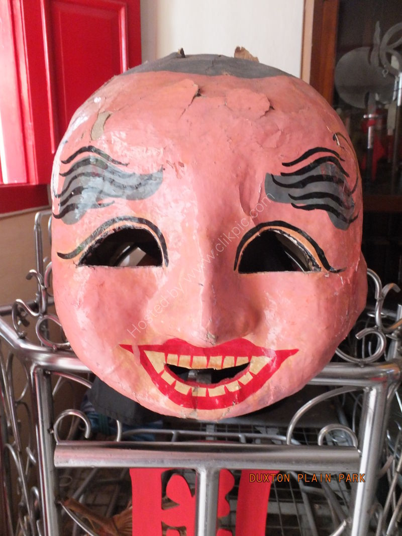 Mask, Kong Chow Cultural Centre, China Town