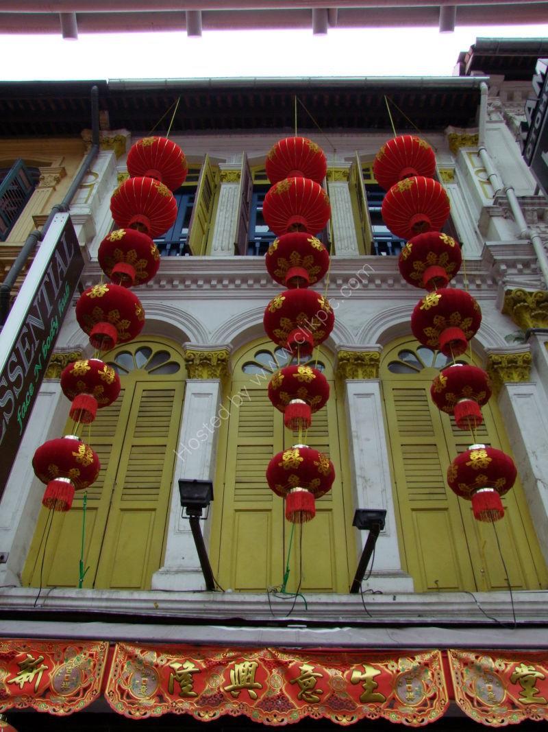 Chinese Lanterns, China Town