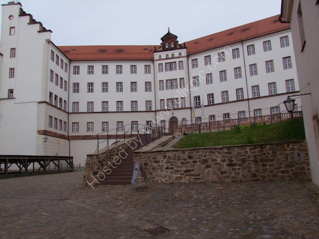 Colditz Castle, Outer Courtyard for German Garrison