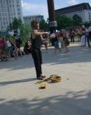 Street Performer, Southbank, London