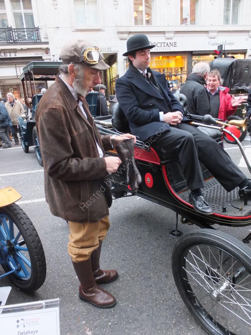 Contestant London to Brighton Vintage Race