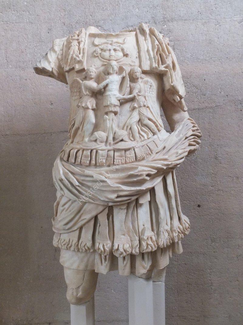 Roman Marble Statue, Corinth Museum