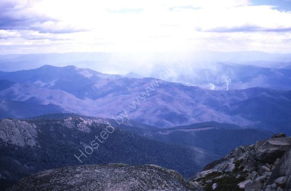 View of Countryside from Mount Buffalo, Victoria State