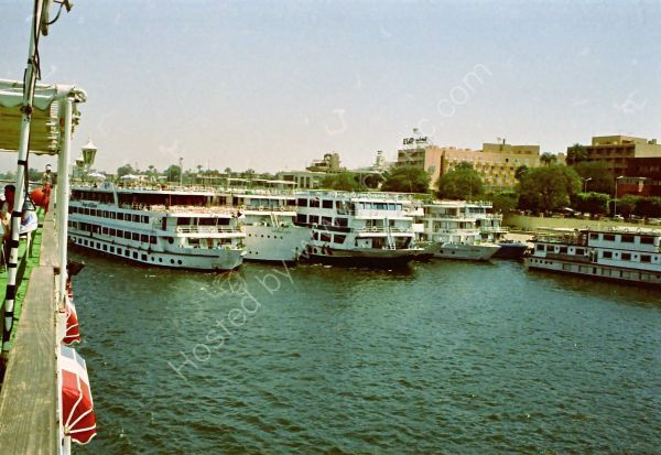 Cruise Boats on the Nile, Luxor