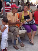 Cubans passing time!