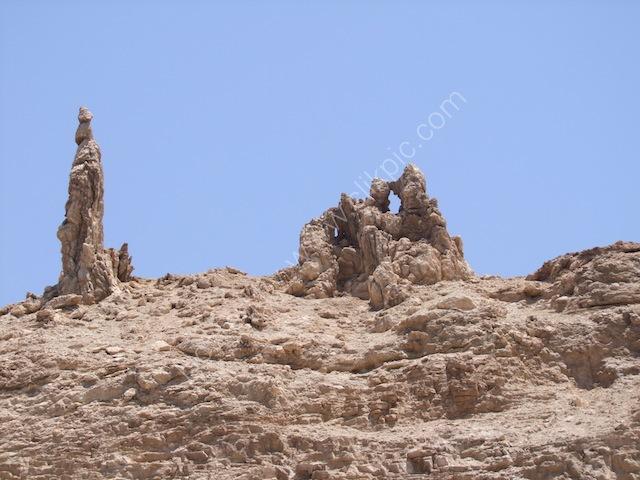 Supposed Lot's Pillar of Salt!, Dead Sea