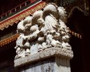 Detail of Carving at Delai Lama Temple, Beijing