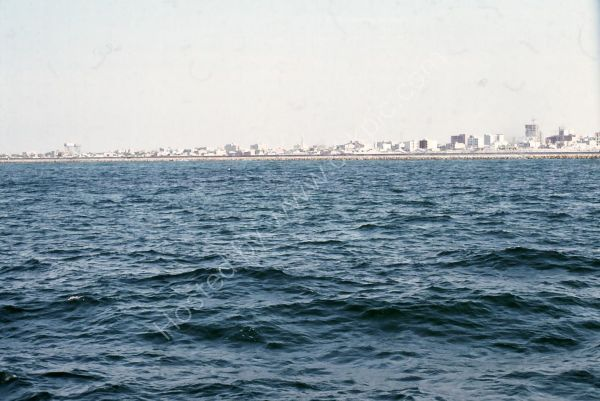 View of Dubai from the Sea