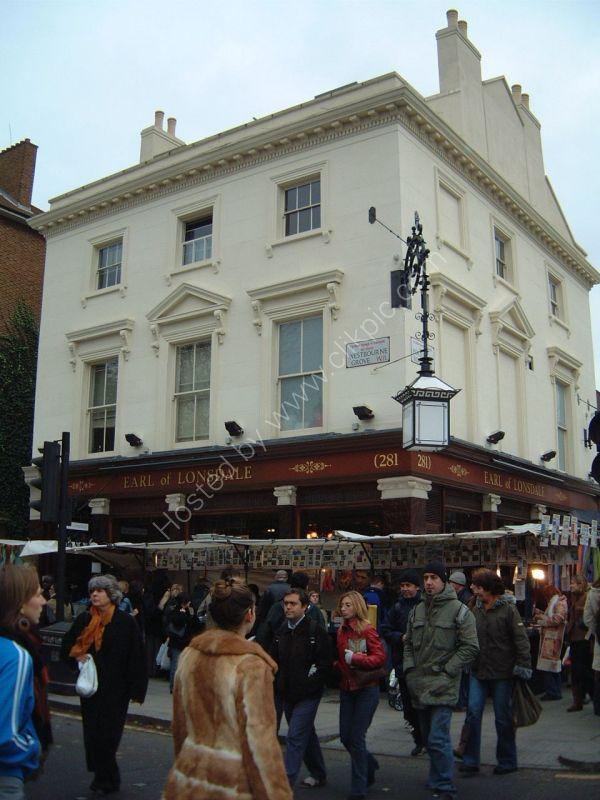 Earl of Lonsdale. Westbourne Grove/Portobello Road, London