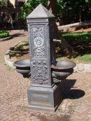 Water Fountain in English Garden, Palermo