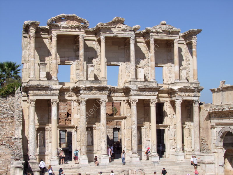 Roman Library of Celsus. Ephesus