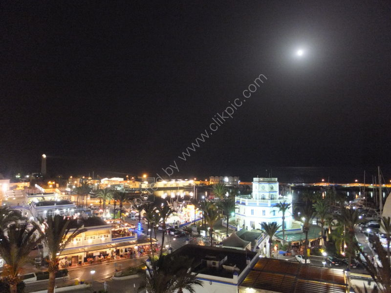 Moonlight over Estepona Port