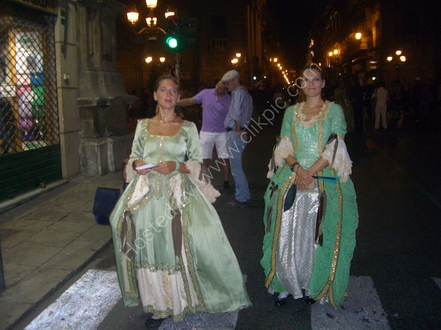 Period Dress, Festival, Palermo
