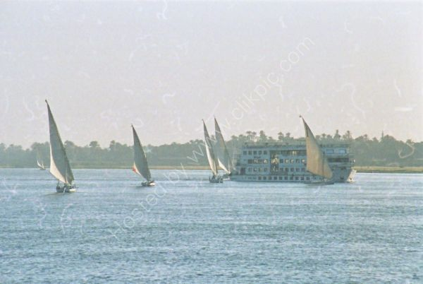 Felucca and River Cruiser, Nile