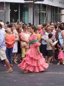 Spaniard in Costume, Malaga Festival