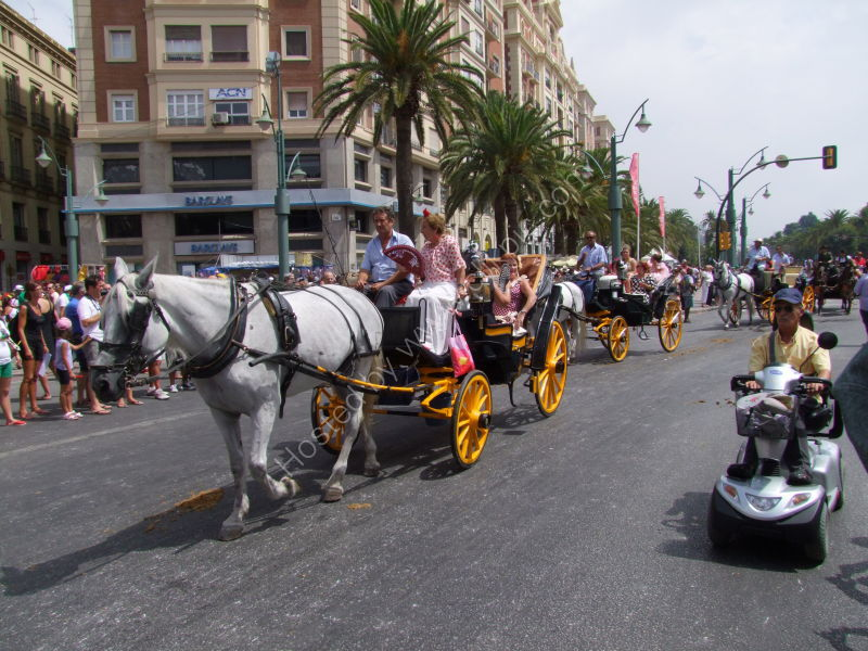 Trying to overtake! Malaga Festival
