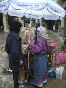 Fish Seller in Medina