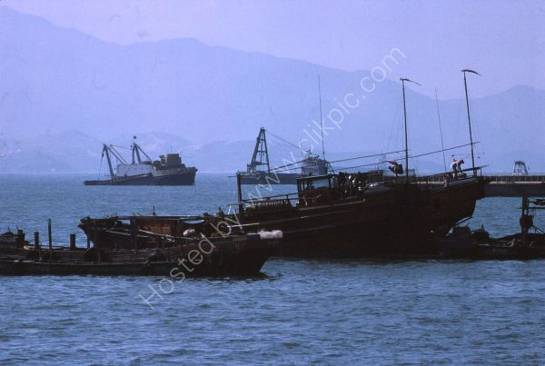Fishing Boats, Kowloon, Hong Kong