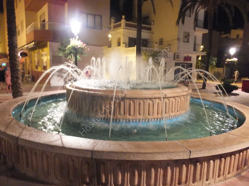 Fountain, Plazoleta Ortiz, Estepona