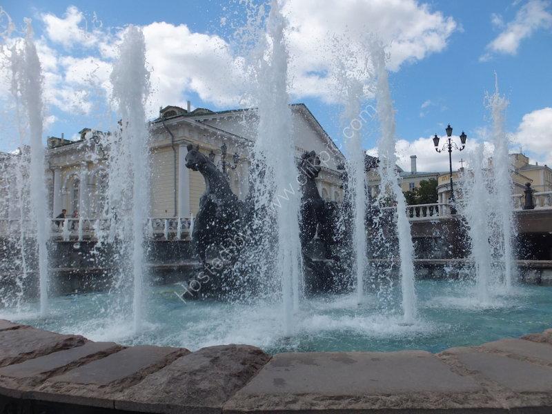 Fountain at Alexander Park, Kremlin