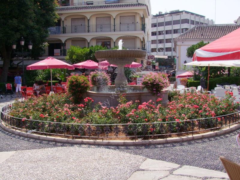 Fountain, Plaza de Flores, Estepona