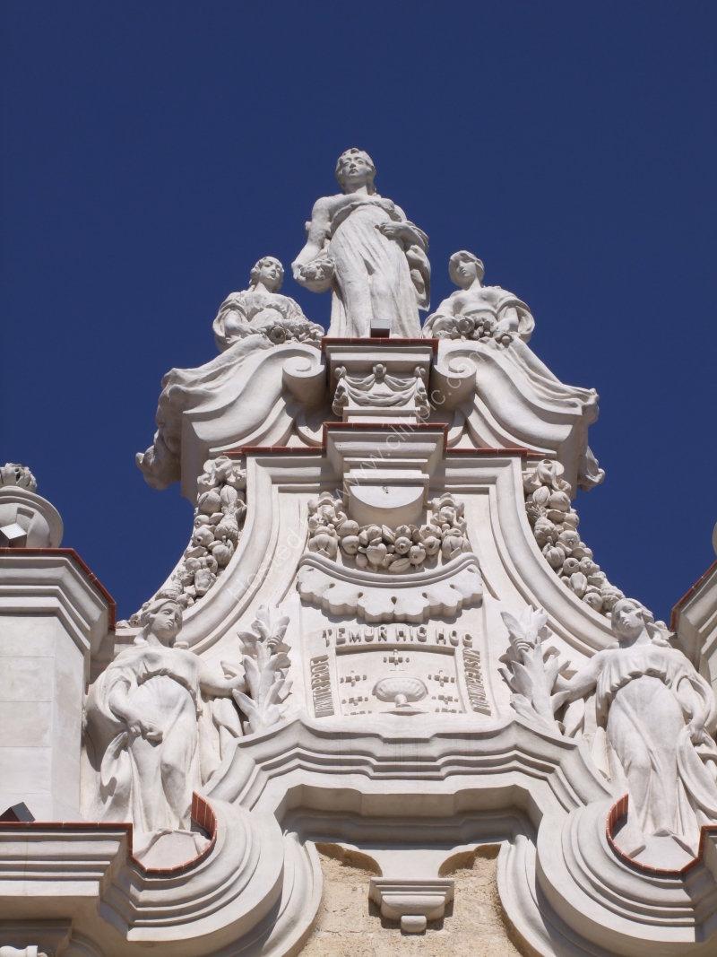 Detail of Grand Theatre Alicia Alonzo, Havana