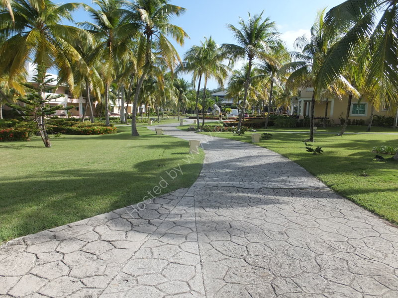 Grounds of Paradissus Rio de Oro Hotel, Guardalavaca
