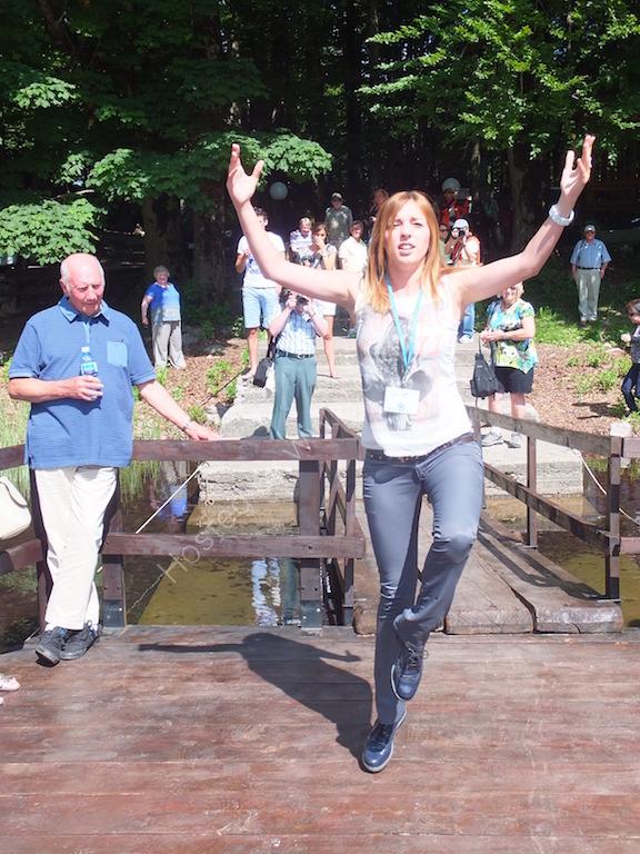Guide Dancing, Biogradska Gora National Park