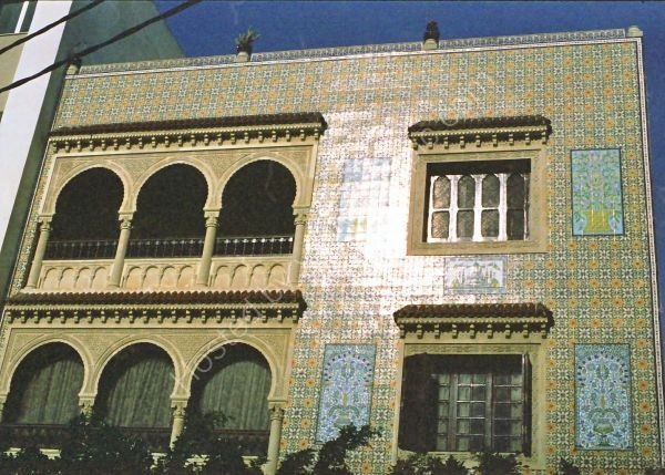 Typical Tiled Building, Hammamet