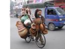 Basket Seller, Hanoi
