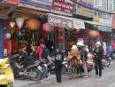 Lamp Shop & Street Vendors, Hanoi