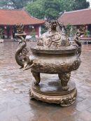 Bronze Incense Burner, Temple of Literature, Hanoi