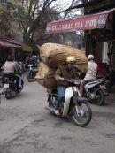 Motorbike Traffic, Hanoi