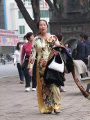 Vietnamese Dress, Hanoi