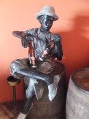 Bronze at Havana Club Museum, Havana