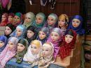 Head Scarf Display in Medina, Fes