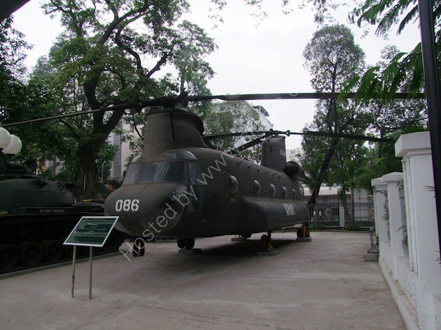US Transport Helicopter, Bao Tang Chung Tich Chien Tranh (War Remnants Museum), Ho Chi Minh City