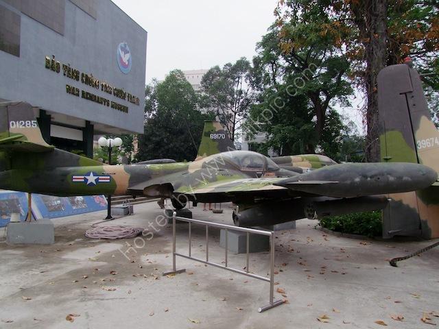 US War Plane, Bao Tang Chung Tich Chien Tranh (War Remnants Museum), Ho Chi Minh City