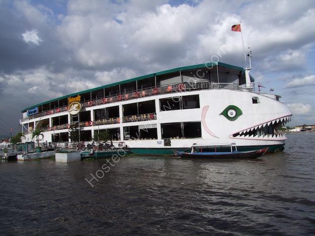 Boat on Saigon River, Ho Chi Minh City
