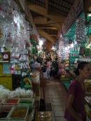 Narrow Alleyways of Cho Ben Thanh Market, Ho Chi Minh City