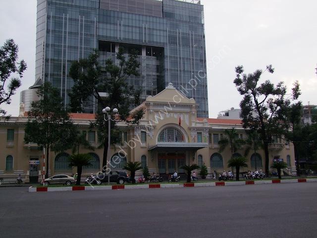 Modern versus Old, Ho Chi Minh City