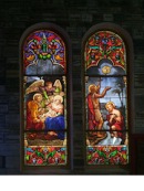 Stained Glass Windows, Nha Tho Duc Ba (Notre Dame Church), Ho Chi Minh City