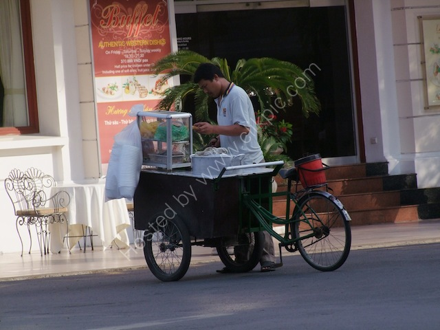 Mobile Restaurant, Continental Hotel Saigon, Ho Chi Minh City