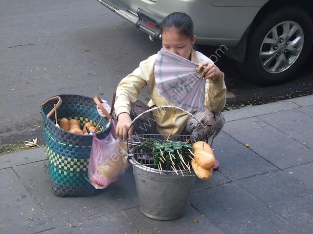 Street Fast Food Vendor, Ho Chi Minh City