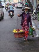 Street Fruit Vendor, Ho Chi Minh City