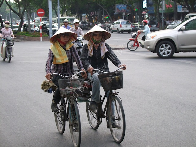 Cyclists, Ho Chi Minh City